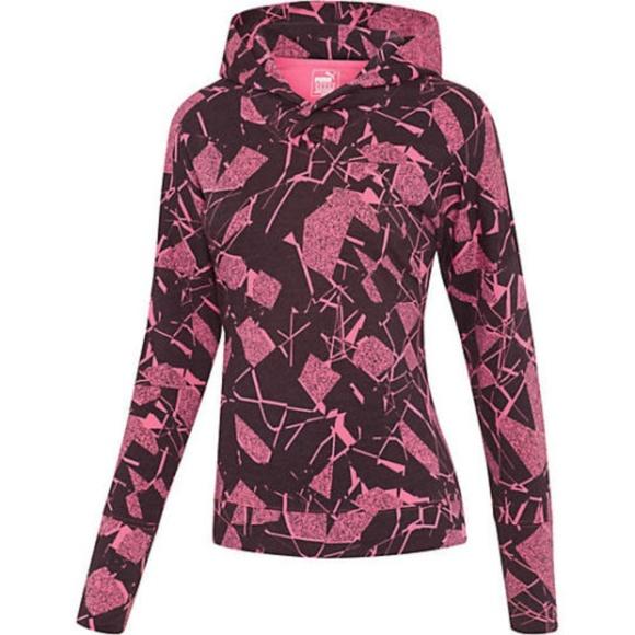 PUMA Women Size XS Lightweight pullover Top 513015
